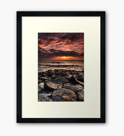 Sun Blessing Framed Print