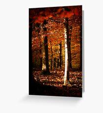 Autumnal mood #7 Greeting Card