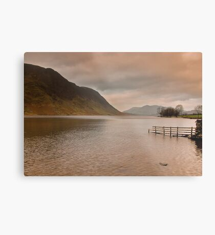 Morning at Buttermere Metal Print