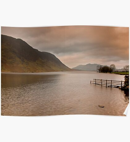 Morning at Buttermere Poster