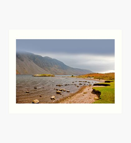 The Bleakness of Wast Water Art Print