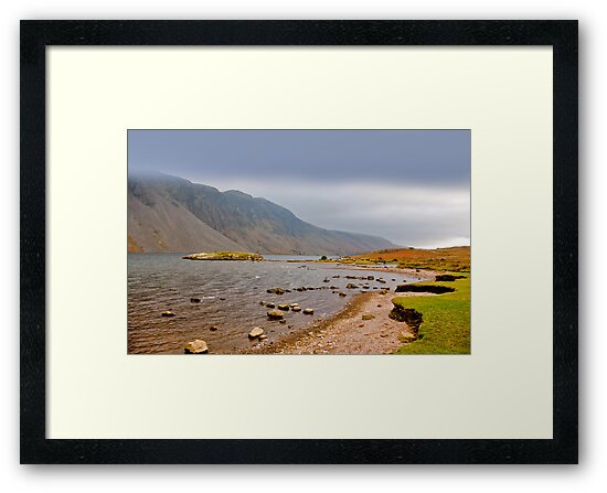 The Bleakness of Wast Water by Trevor Kersley
