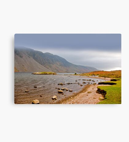 The Bleakness of Wast Water Canvas Print