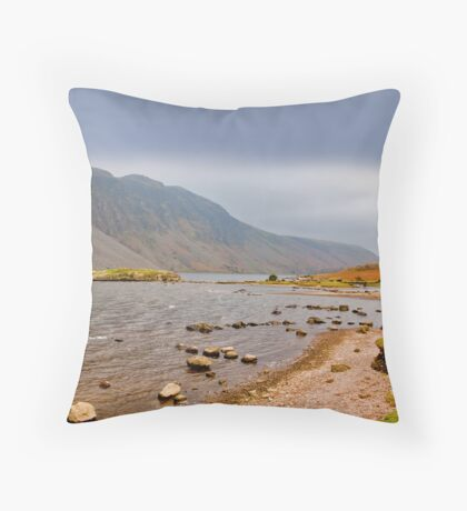The Bleakness of Wast Water Throw Pillow