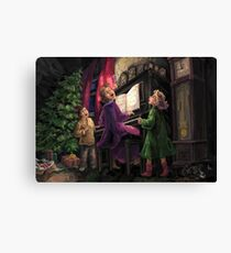Christmas Sing Along Canvas Print