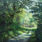 forest's bridge by edisandu