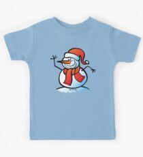 Grinning Snowman Kids Clothes