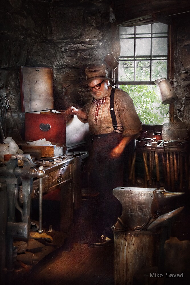 Blacksmith - The Smithy  by Michael Savad