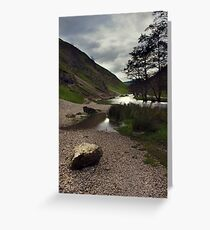 Dovedale, River Dove. Greeting Card