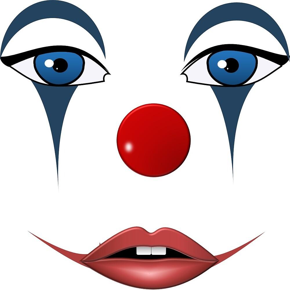 Clown by Legauloix