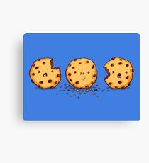 Cannibalism   Cute Cookie Canvas Print