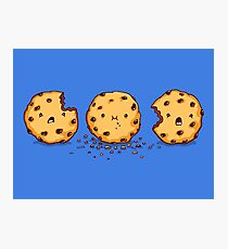 Cannibalism | Cute Cookie Photographic Print