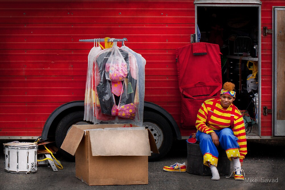 Clown - Wardrobe change by Michael Savad