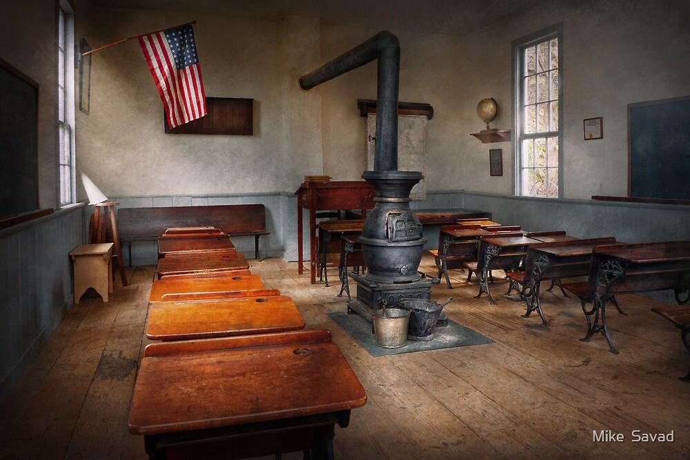 Teacher - First day of school by Michael Savad