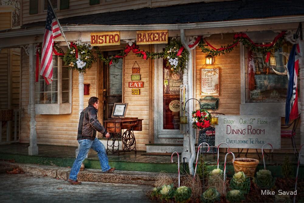 Cafe - Clinton, NJ - Bistro Bakery  by Michael Savad