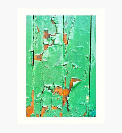"""""""The Green Door"""" Art Print"""