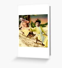 The Reckless Ladies Greeting Card