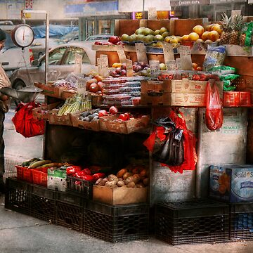 Store - NY - Chelsea - Fresh fruit stand by mikesavad
