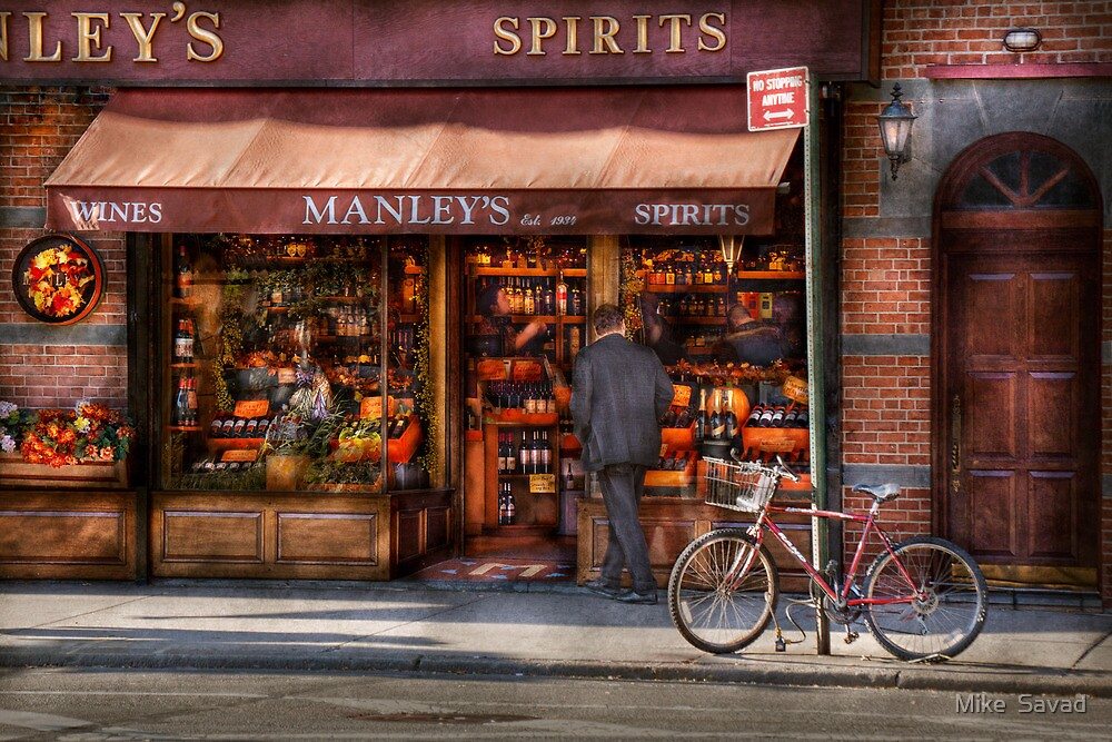 Store - Wine - NY - Chelsea - Wines and Spirits Est 1934  by Michael Savad
