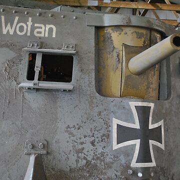 WW1 german tank by 64stops