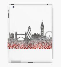 Remember ( London poppies) iPad Case/Skin