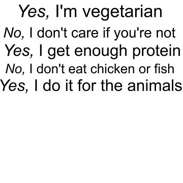 Vegetarian Text by drdeathdefy