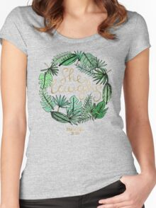 Proverbs 31:25 Women's Fitted Scoop T-Shirt