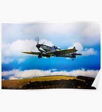 Spitfire Mk XVI TE311 Poster