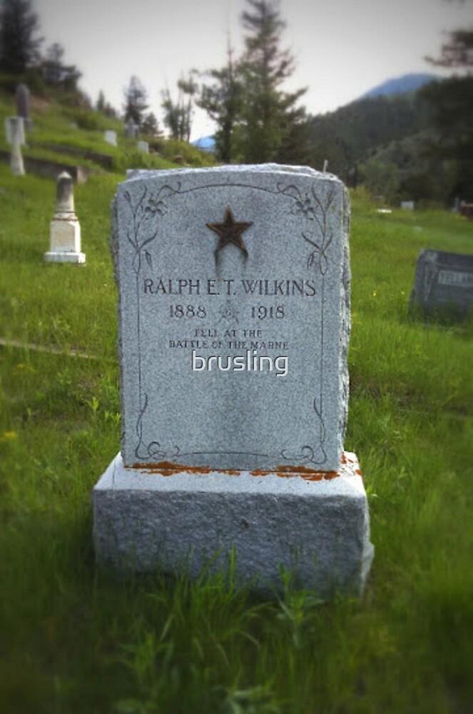 Ralph E. T. Wilkins, WWI by brusling