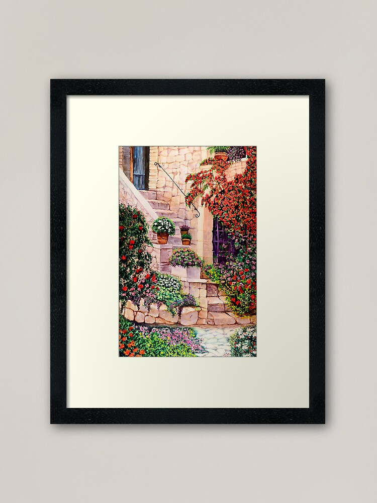 Alternate view of House in Oyster Bay Framed Art Print