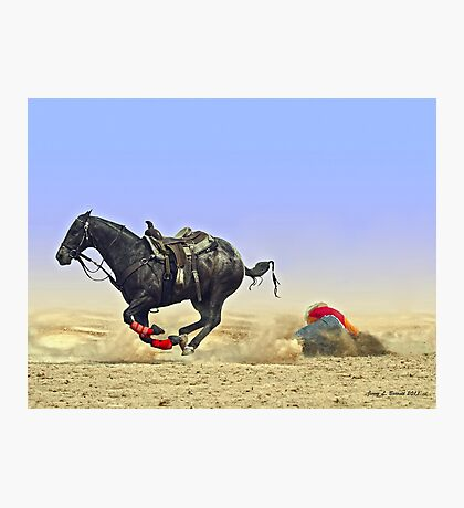 Texas Tumble Photographic Print