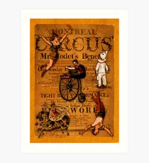 At the Circus Art Print