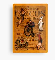 At the Circus Metal Print