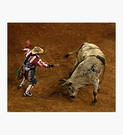 Rodeo Clown Photographic Print