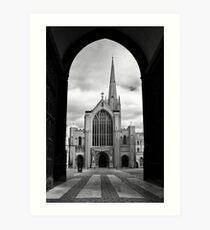 Norwich Cathedral #2 Art Print