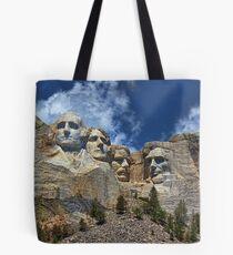 Mount Rushmore National Memorial In High Definition Tote Bag