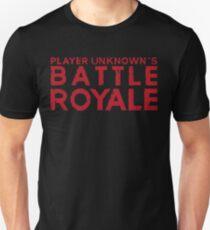 H1Z1 - Battle Royale Red Unisex T-Shirt