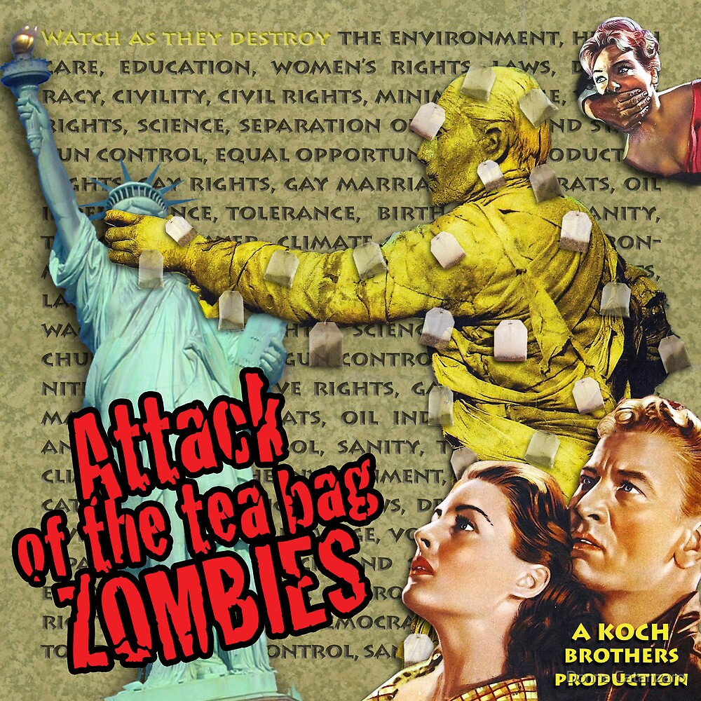 Attack of the Tea Bag Zombies by Donna Catanzaro
