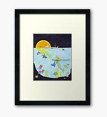 Moonlight Crossing II Framed Print