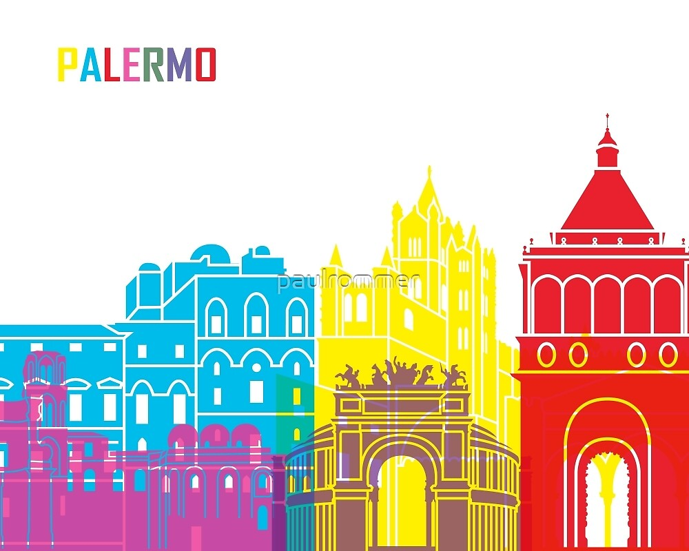 Palermo skyline pop by paulrommer