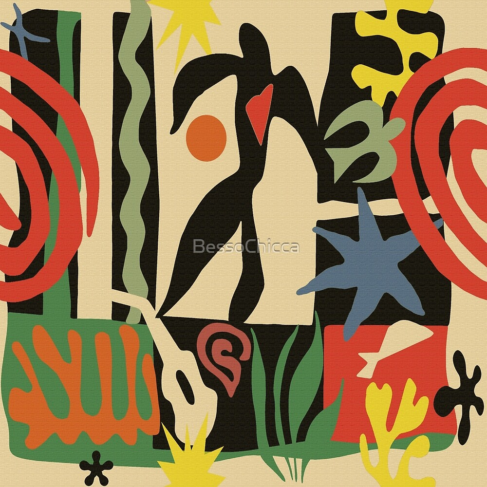 Inspired by Matisse (Vintage) by BessoChicca