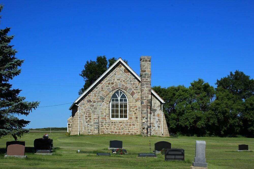 Back of a Stone Church by rhamm