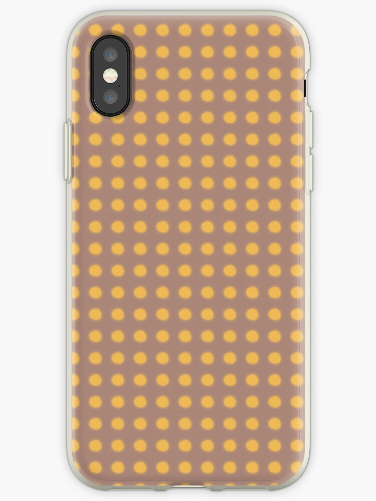 iPhone Case Brown & Yellow by rupydetequila