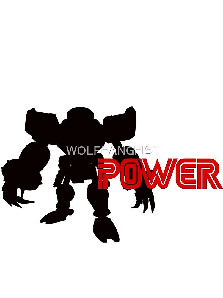 Power Type: E123 Omega by WOLFFANGFIST
