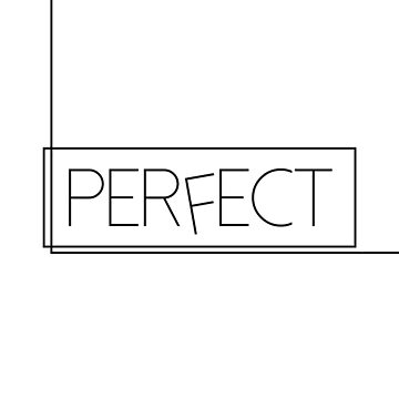 One Direction - Perfect [BLACK] by carolanneroyer
