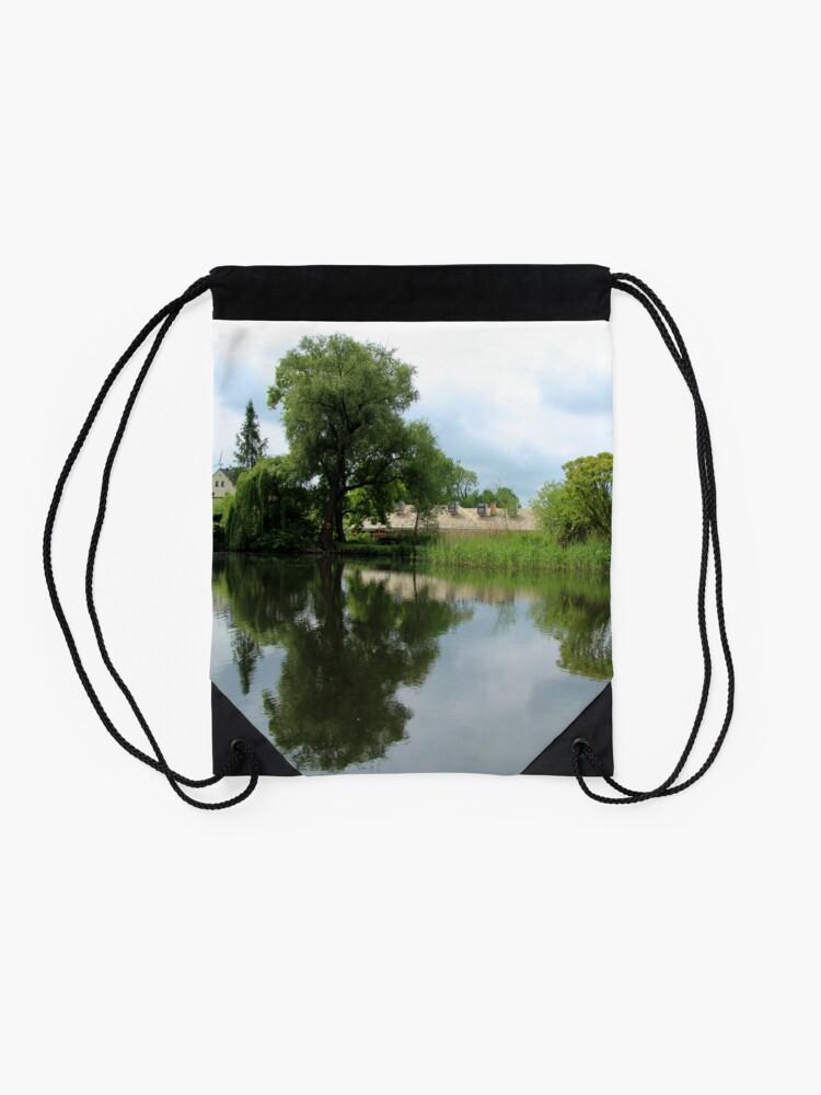 Alternate view of Rural Tranquillity  Drawstring Bag
