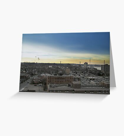 Windsor from Above Greeting Card
