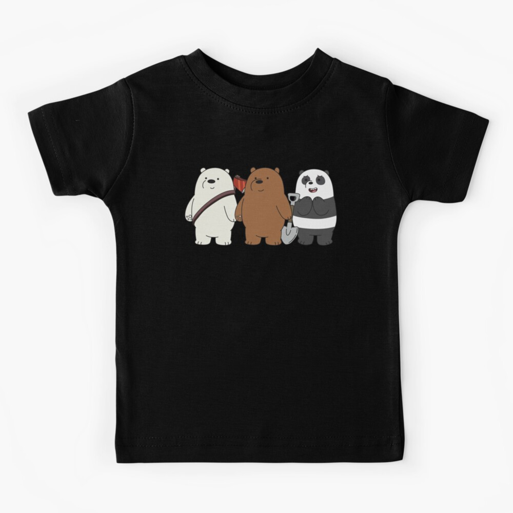 We Bare Bears Kids T-Shirt