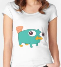 Baby Perry! Women's Fitted Scoop T-Shirt
