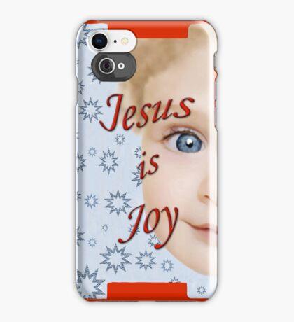 Jesus is Joy iPhone Case/Skin